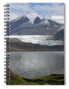 Mendenhall Glacier In Late Fall Spiral Notebook