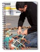 Mending The Nets Spiral Notebook