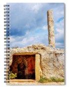 Menhir Di San Paolo Spiral Notebook