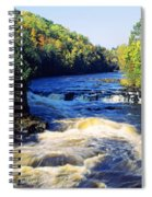 Menominee River At Piers Gorge, Upper Spiral Notebook