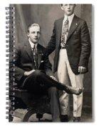 Men's Fashion, 1917 Spiral Notebook