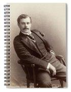 Men's Fashion, C1885 Spiral Notebook