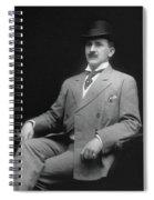 Men's Fashion, C1905 Spiral Notebook