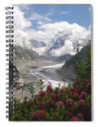 Mer De Glace - Sea Of Ice Spiral Notebook