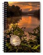 Meramec River At Chouteau Claim Spiral Notebook