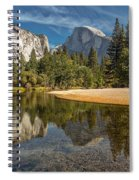 Merced River View I Spiral Notebook