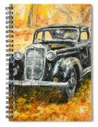 Mercedes 170 S Spiral Notebook