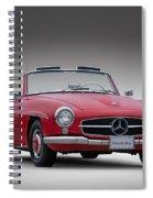 Mercedes-benz 190 Sl Spiral Notebook
