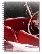 Mercedes Benz 190 Sl Spiral Notebook