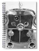 Mercedes Benz - Bw Spiral Notebook