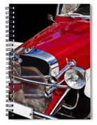 Mercedes Benz Spiral Notebook