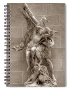 Mercury And Psyche Spiral Notebook