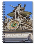 Mercury Mimerva And Hercules Spiral Notebook