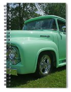 Mercury Pick Up Spiral Notebook