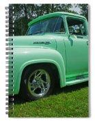 Mercury Side View Spiral Notebook