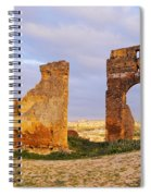 Merinid Tombs Ruins In Fes In Morocco Spiral Notebook