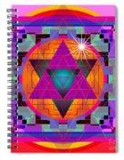 Merkaba 2013 Spiral Notebook