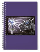 Merlin's Dragon Spiral Notebook