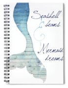 Mermaid Dreams Spiral Notebook