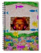 Mermaid In Her Cave Spiral Notebook