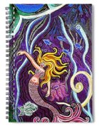 Mermaid Under The Sea Spiral Notebook