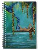 Mermaids Relaxing Morning Spiral Notebook