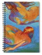 Mermaids Swimming Spiral Notebook
