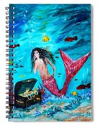 Mermaids Treasure Spiral Notebook