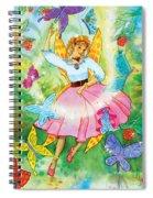 Merri Goldentree Dances Spiral Notebook