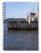 Merrimac Ferry - Wisconin Spiral Notebook