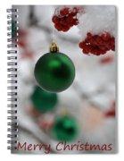 Merry Christmas 2 Spiral Notebook