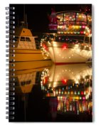 Merry Christmas Bandon By The Sea 1 Spiral Notebook