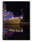 Merry Christmas Bandon By The Sea 2 Spiral Notebook