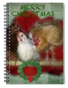 Merry Christmas Spiral Notebook