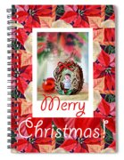 Merry Christmas From An Angel Spiral Notebook