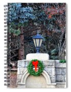 Merry Christmas From Boise Idaho Spiral Notebook