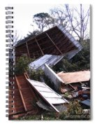 Merry Christmas From Mother Nature - I'm A Tornado Spiral Notebook