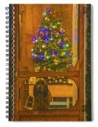 Merry Christmas Spiral Notebook