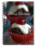 Merry Christmas - Puddings Spiral Notebook