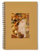 Merry Christmas Santa Spiral Notebook