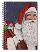 Merry Christmas To All Spiral Notebook