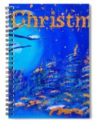 Merry Christmas Wish V2 Spiral Notebook