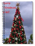 Merry Christmas Y'all Spiral Notebook