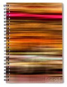 Merry Go Round Abstract Spiral Notebook