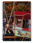 Merry Go Round Spiral Notebook
