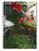 Merry Koi Spiral Notebook