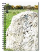 Merry Maidens Stone Circle Cornwall Spiral Notebook