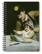 Merrymakers Spiral Notebook