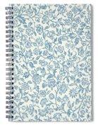 Merton Wallpaper Design Spiral Notebook