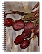 Mes Tulipes Spiral Notebook